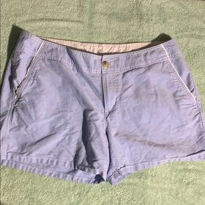 Columbia  12 4L blue shorts extra button T120